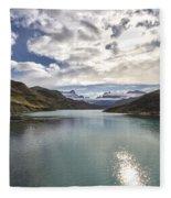 Crisped Lake Fleece Blanket