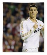 Cristiano Ronaldo 4 Fleece Blanket