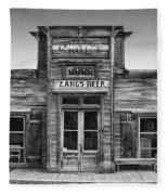Criterion Hall Saloon -- Montana Territories Fleece Blanket