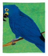 Critically Endangered  Fleece Blanket