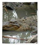 Crocodile Fleece Blanket