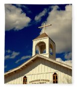 Crooked Creek Chapel Fleece Blanket