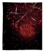 Cross Fire Fleece Blanket