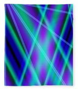 Cross Lighting Fleece Blanket