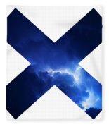 Cross Storm Fleece Blanket