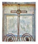 Crosses Voided - Artistic Fleece Blanket