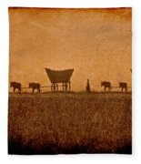 Crossing Kansas Fleece Blanket