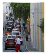 Crossing San Juan Fleece Blanket