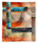 Crossroads Abstract Fleece Blanket
