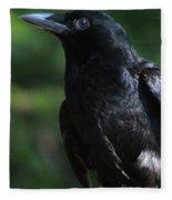 Crow-6870 Fleece Blanket