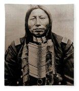 Crow King Fleece Blanket