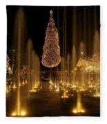 Crown Center Christmas 2 Fleece Blanket