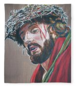 Crown Of Thorns Fleece Blanket