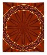 Crown Of Thorns Fleece Blanket