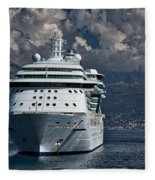Cruising The Adriatic Sea Fleece Blanket