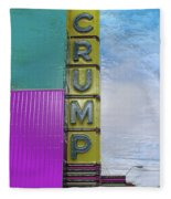 Crump Water Fleece Blanket