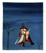 Crusader Fleece Blanket