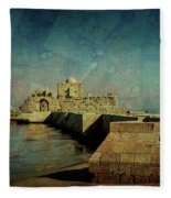 Crusaders Sea Castle Fleece Blanket