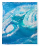 Crushing Wave Fleece Blanket