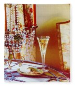Crystal And Champagne Fleece Blanket