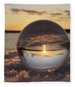 Crystal Ball  Fleece Blanket