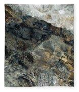 Crystal Cave Marble Ceiling Fleece Blanket
