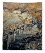 Crystal Cave Marble Fleece Blanket
