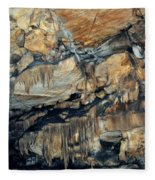 Crystal Cave Marble Sequoia Portrait Fleece Blanket