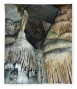 Crystal Cave Portrait Sequoia Fleece Blanket