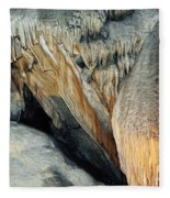 Crystal Cave Sequoia Landscape Fleece Blanket
