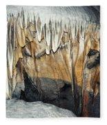 Crystal Cave Waves Fleece Blanket