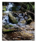 Crystal Clear Creek Fleece Blanket