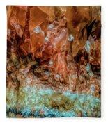Crystal Formations Fleece Blanket