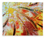 Crystal Sunburst Fleece Blanket