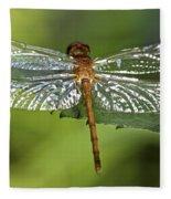 Crystal Wings Fleece Blanket