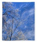 Crystalline Sky Fleece Blanket