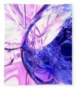 Crystallized Abstract Fleece Blanket