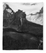 Csontvary: Hight Tatras Fleece Blanket