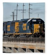 Csx 8011 Bone Valley Bound Fleece Blanket