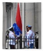Cuban Raise Fleece Blanket