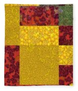 Cubism  Fleece Blanket