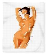 Cubism Series 24 Fleece Blanket