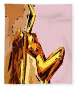 Cubism Series Xxi Fleece Blanket