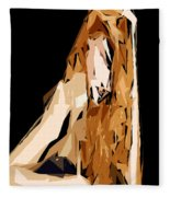 Cubism Series Xxiv Fleece Blanket