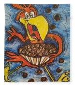 Cuckoo For Cocoa Puffs Fleece Blanket