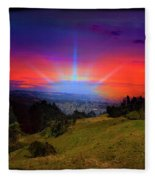Cuenca Is Blessed II Fleece Blanket