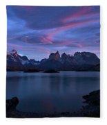 Cuernos Sunrise Part 1 - Chile Fleece Blanket
