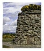 Culloden Battlefield Cairn Fleece Blanket