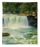 Cumberland Falls Fleece Blanket