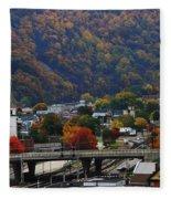 Cumberland In The Fall Fleece Blanket